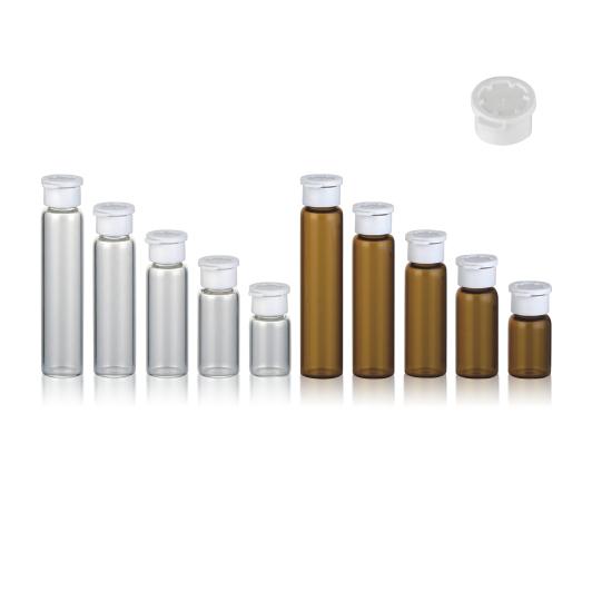 Glasflaschen mit Aufreißdeckel